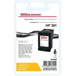 Office Depot Compatible HP 301 Ink Cartridge ch561ee Black