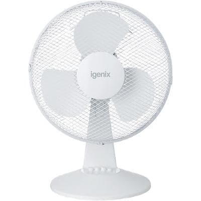 igenix Desk Fan MM30135 White