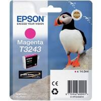 Epson Ink Cartridge T3243 Magenta, Original, Pigment-based ink, Epson, SureColor SC-P400, 1 pc(s)