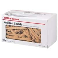 Office Depot Rubber Bands Ø 100 mm 6 x 150 mm 500 g