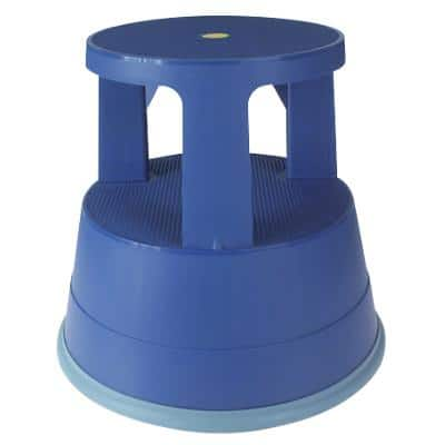 Office Depot Step Stool Two Step Blue 41.5 x 41.5 x 37.4 cm
