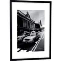 Paperflow Wall Mountable Picture Frame A4 217 x 304 mm Black