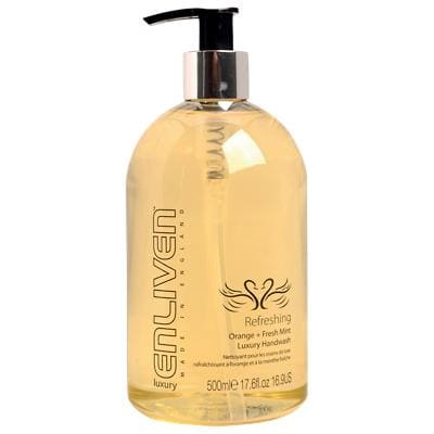 Enliven Hand Soap Orange and Fresh Mint Luxury 500ml