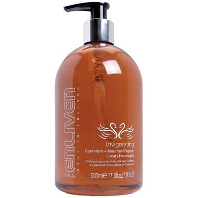 Enliven Hand Soap Geranium and Mountain Pepper Luxury 500ml