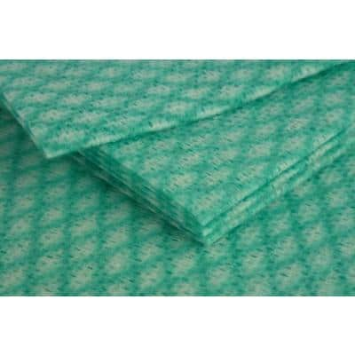 Stronghold Cleaning Cloths Green 50 x 38cm Pack of 50