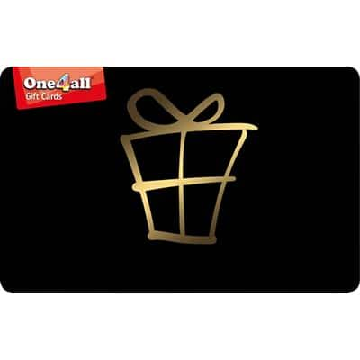 One4all Gift Card Black £10