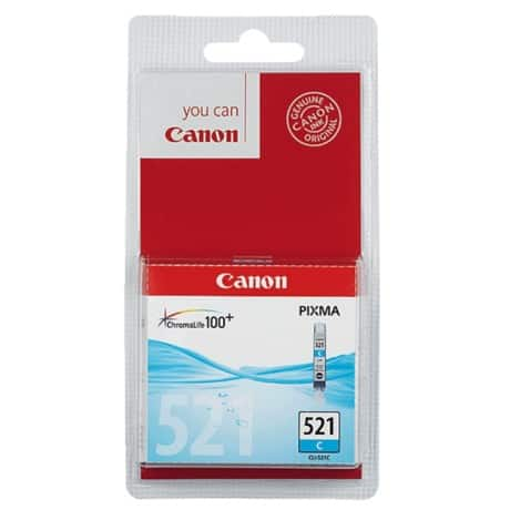 Canon CLI-521C Original Ink Cartridge Cyan
