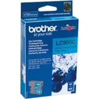 Brother LC980C Original Ink Cartridge Cyan