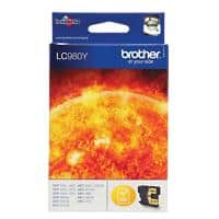 Brother LC980Y Original Ink Cartridge Yellow