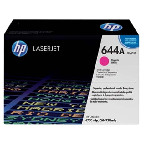 HP 644A Original Toner Cartridge Q6463A Magenta
