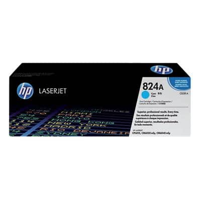HP 824A Original Toner Cartridge CB381A Cyan