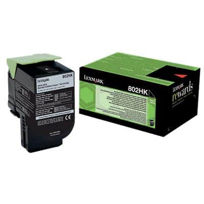 Lexmark 80C2HK0 Original Toner Cartridge Black