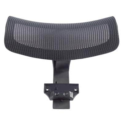 Realspace Nylon, Mesh Head Support 3075033 for Karl Office Chair Black