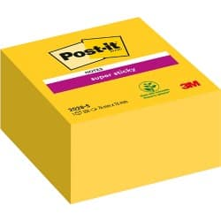 Post-it Notes 2028-S Yellow 76 x 76 x 76 mm 70gsm 350 sheets
