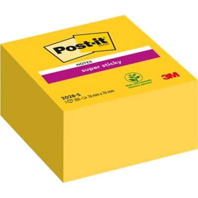 Post-it Sticky Notes 76 x 76 mm Yellow 350 Sheets