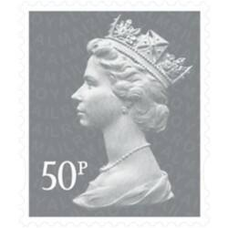 Royal Mail 50 pence stamps – pack of 25