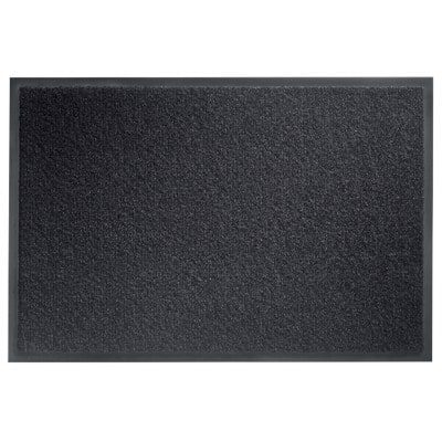 Office Depot Doormat Black 90 x 60 cm