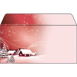 Sigel Christmas Envelopes Silent Night C5/6 90gsm Assorted 50 pieces