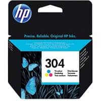 HP 304 Original Ink Cartridge N9K05AE Cyan, Magenta, Yellow