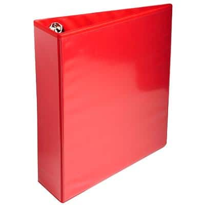 Presentation Ring Binder Polypropylene A4 4 ring 60 mm Red