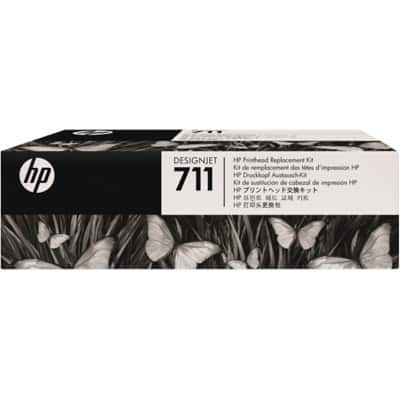 HP 711 Original Printhead C1Q10A Black & 3 Colours