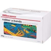 Office Depot Rubber Bands Ø 100 mm 160 x 11 mm 500 g