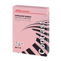 Office Depot Contrast Coloured Paper A4 80gsm Pastel Pink 500 Sheets