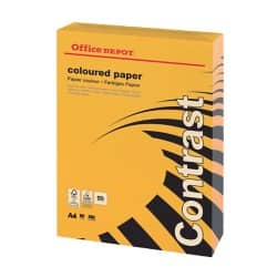 Office Depot Coloured Paper A4 80gsm Orange 500 sheets