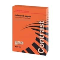 Office Depot Contrast Coloured Paper A4 80gsm Intense Red 500 Sheets