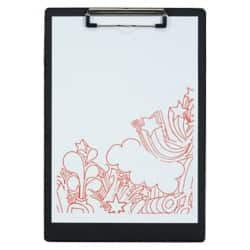 Office Depot Clipboard Black A4 34 x 23.5 cm Polypropylene