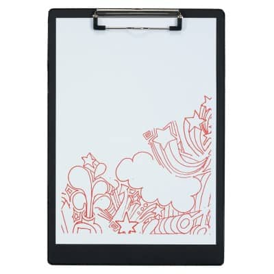 Office Depot Clipboard Black A4 34 x 23.5 cm PVC