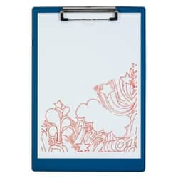Office Depot Clipboard Blue A4 34 x 23.5 cm Polypropylene