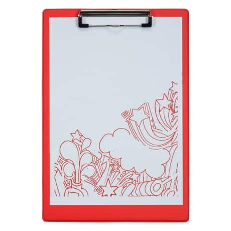 Office Depot Clipboard Red A4 34 x 23.5 cm polypropylene