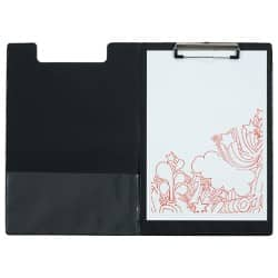 Office Depot Clipboard Fold-over Black A4 34 x 23.5 cm PVC