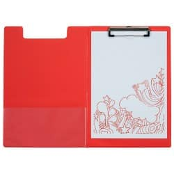 Office Depot Clipboard Red 34 x 23.5 cm PVC