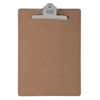 Office Depot Clipboard Brown A4 23.5 x 34 cm