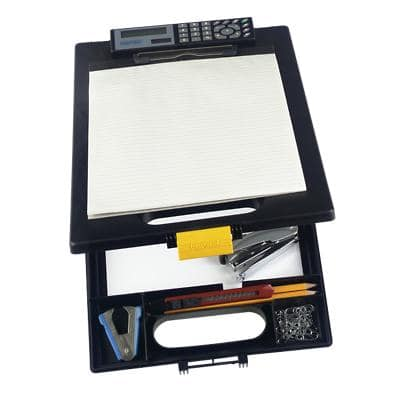 Office Depot Clipboard Black 25.5 x 0.8 x 35 cm