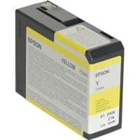 Epson T5804 Original Ink Cartridge C13T580400 Yellow