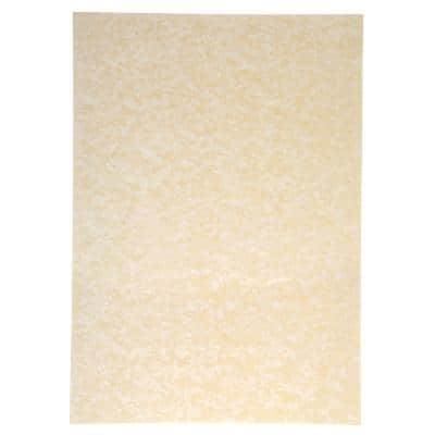 Sigel Double Sided Parchment Design Paper Perga Champagne A4 200gsm 50 Sheets Per Pack