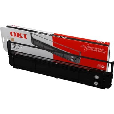 OKI Printer Ribbon 49 x 3.8 x 14 cm Black