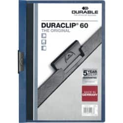 Durable Duraclip® 6 mm Folder – Dark Blue