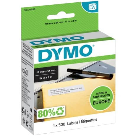 DYMO Multi Purpose Labels 11355 51 x 19 mm White