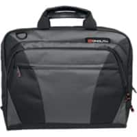 Monolith nylon laptop messenger bag