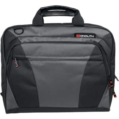 dac4f57b8ab1 Stay organised and professional on the go with the Monolith nylon laptop  messenger bag