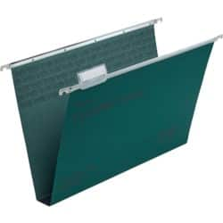 Rexel Crystalfile Classic Suspension Files Manilla 30 mm Capacity Foolscap Green - Box 50