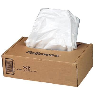 Fellowes Shredder Bags 50 Pieces