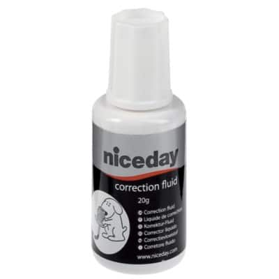 Niceday Correction Fluid White 20 ml 20 ml
