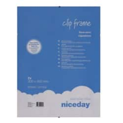 Niceday Clip Frame 400 H x 300 W mm 2 Per Pack
