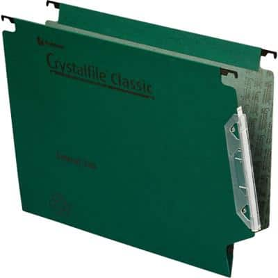 Rexel Lateral Suspension File Lateral A4 Green Manila 50 Pieces