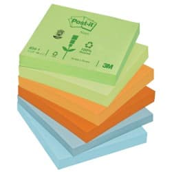 Post-it Sticky Notes 76 x 76 mm Assorted 12 Pieces of 100 Sheets